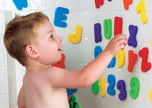 munchkin マンチキン おふろおもちゃ バス レター&ナンバー アルファベットと数字のお勉強,数字,おもちゃ,幼児
