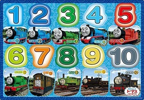 20ピース 子供向けパズル きかんしゃトーマス トーマスすうじ ピクチュアパズル,数字,おもちゃ,幼児