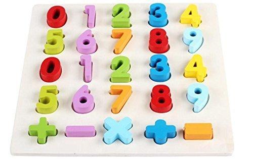 (エイチケーエイチ) HKH 遊びながらお勉強 知育 遊具 木製 形合わせ はめ込み パズル キッズ 子供 おもちゃ 勉強 (数字),数字,おもちゃ,幼児