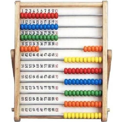 木製シリーズ よくわかる100だまそろばん,数字,おもちゃ,幼児