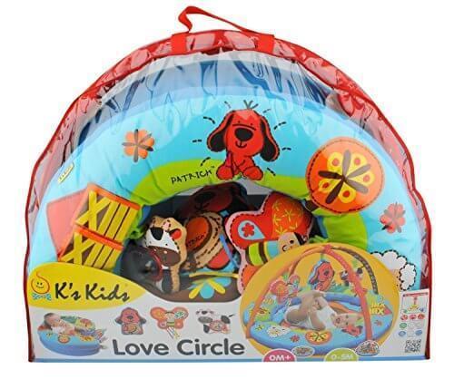 K'sKids プレイマット ラブサークル・4WAYプレイマット TYKK10660,乳幼児,知育,k's kids