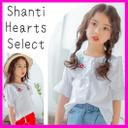 【2017年春夏】【Shanti Heartsセレクト】花柄刺繍ブラウス 【メール便送料無料】,刺繍,トップス,
