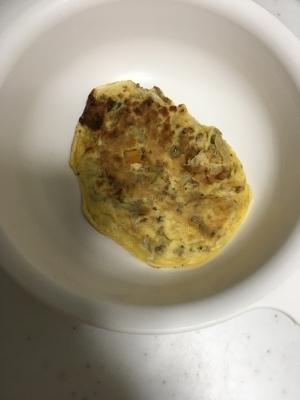 離乳食後期☆合挽きミンチとじゃがいものお好み焼き,離乳食,お好み焼き,