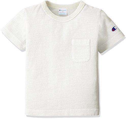 (チャンピオン)Champion 製品染めTシャツ キッズ CS4186 020 オフホワイト 140,キッズ,Tシャツ,