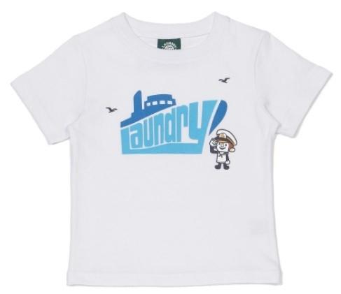 キッズ LAUNDRY船ロゴTシャツ,キッズ,Tシャツ,