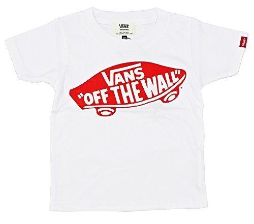 (バンズ)VANS キッズ 半袖Tシャツ VA17SS-KT08 (110, WR:ホワイト×レッド),キッズ,Tシャツ,