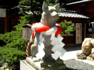 伊奴神社 犬石像,戌の日,安産祈願,愛知