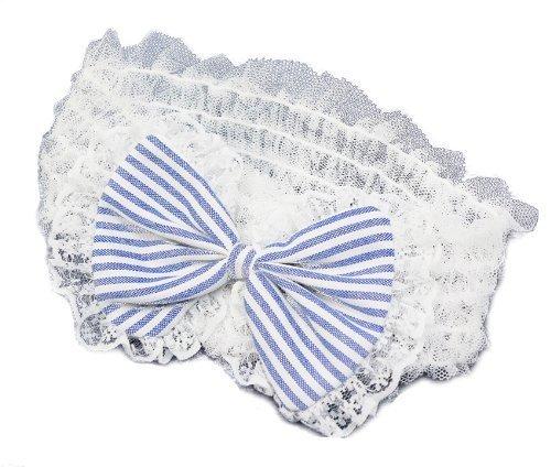 ベビー&キッズ ヘアバンド とってもかわいい ブルーリボンデザインの髪飾り【TH04】 ヘアアクセサリー 出産祝いにも!,ベビー,ヘアアクセサリー,