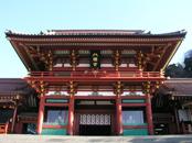 鶴岡八幡宮の正面,神奈川県,安産祈願,神社