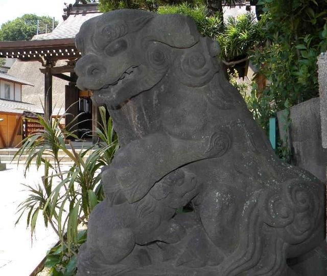 狛犬,神奈川県,安産祈願,神社