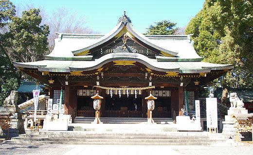 大宮八幡宮,戌の日, 安産祈願,東京