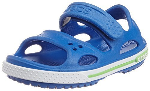 [クロックス] Crocs Crocband 2.0 Sandal Ps 14854 sea blue/white (sea blue/white/C12),クロックス,キッズ,