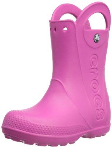 [クロックス] CROCS handle it rain boot kids 12803 670 (Fuchsia/C13),クロックス,キッズ,