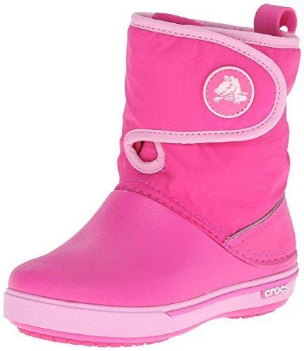 [クロックス] Crocs Crocband 2.5 Gust Boot Kids 12905 neon magenta/carnation (neon magenta/carnation/J3),クロックス,キッズ,
