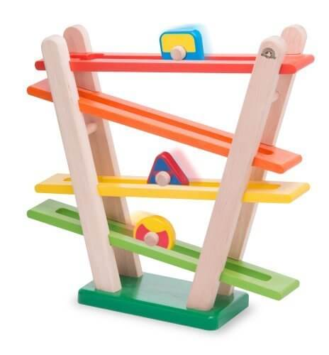 wonderworld 木製玩具 レインボーローラー TYWW3122,スロープトイ,