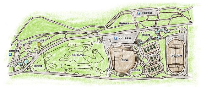 日光運動公園,栃木,公園,