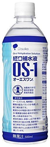 大塚製薬工場 経口補水液 オーエスワン 500mL丸PETx24本(ケース),夏,熱中症,対策