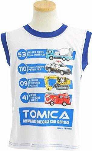 (トミカ)TOMICA 男の子 タンクトップ ランクルー【50t205】 100cm ネイビー,キッズ,タンクトップ,