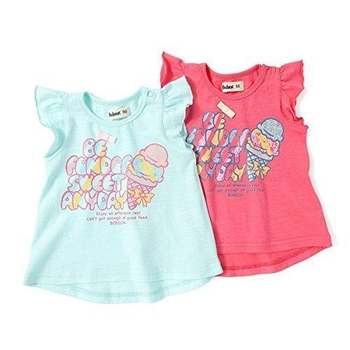 Bobson(ボブソン) タンクトップ (80~130cm) キムラタンの子供服 (77402x77902-162) チェリーローズ 100,キッズ,タンクトップ,