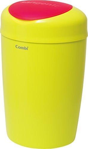 コンビ Combi 紙おむつ処理ポット 5層防臭おむつポット スマートポイ シャトルーズグリーン おむつ約180枚分たっぷり処理,おむつ,ゴミ箱,おすすめ