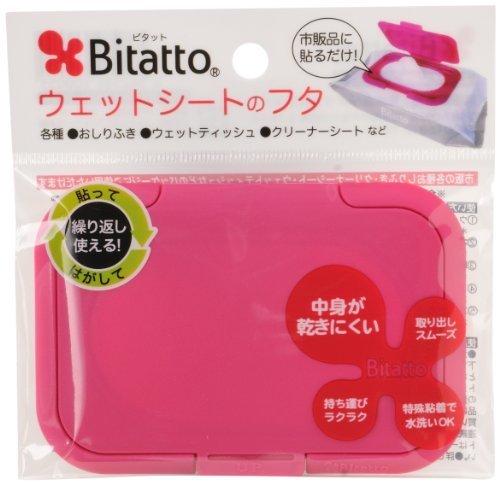 Bitatto ビタット ウェットシートのふた ストロベリー,おむつ,ゴミ箱,おすすめ