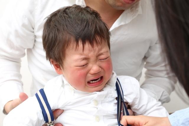 いやいやしている赤ちゃん,知育玩具,1歳,