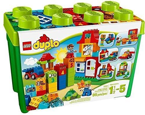レゴ デュプロ みどりのコンテナスーパーデラックス 10580,知育玩具,1歳,