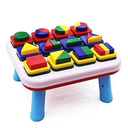Happytime 1歳からの型はめパズル 幼児 知育 おもちゃ 形合わせ ブロック たんぐらむ 子ども キッズ 幾何認識(テーブルタイプ),知育玩具,1歳,