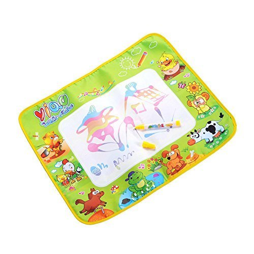 Happytime 人気の動物キャラクターシート おみずでおえかき ぬりえ遊び おもちゃ 1歳から 子ども 幼児 知育玩具,知育玩具,1歳,