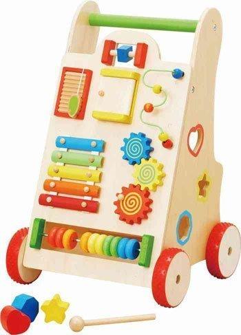 【森のあそび道具シリーズ】 よちよちベビーウォーカー,赤ちゃん,手押し車,