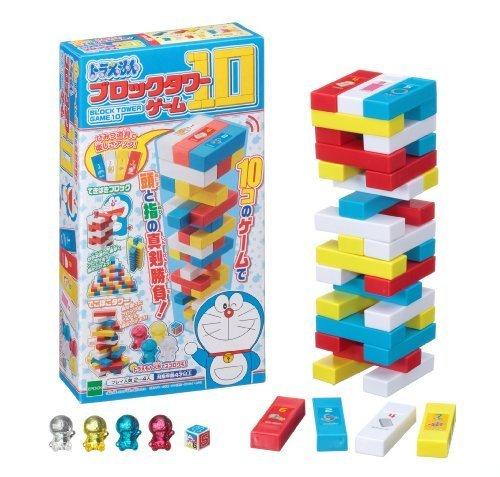 ドラえもん ブロックタワーゲーム10,おもちゃ,男の子,5歳