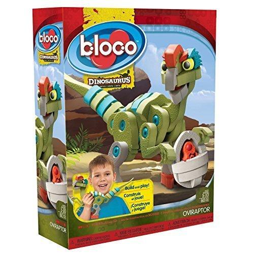 【正規代理店品】Bloco Toys ブロック知育玩具 恐竜シリーズ オビラプトル  レゴ系組み立て玩具ブロコ アメリカで人気の新感覚おもちゃ日本初上陸,おもちゃ,男の子,5歳