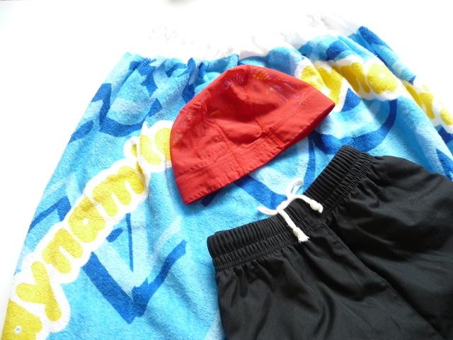 水着と水泳帽,子供,水着,男の子