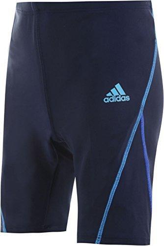 (アディダス)adidas ボーイズ ハーフタイプ スクール水着【dlr99】150cm ネイビー(ライン青),子供,水着,男の子