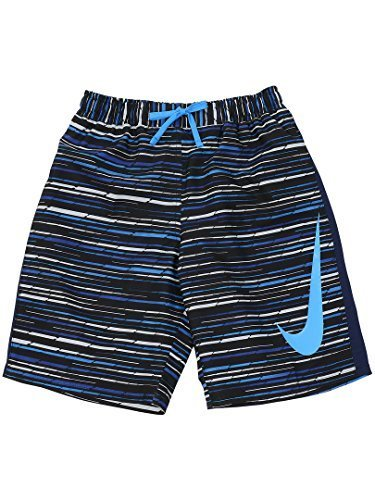 (ナイキ) NIKE ナイキ BOYS グラフィックプリント ルーズトランクス 170 ライトフォトブルー,子供,水着,男の子