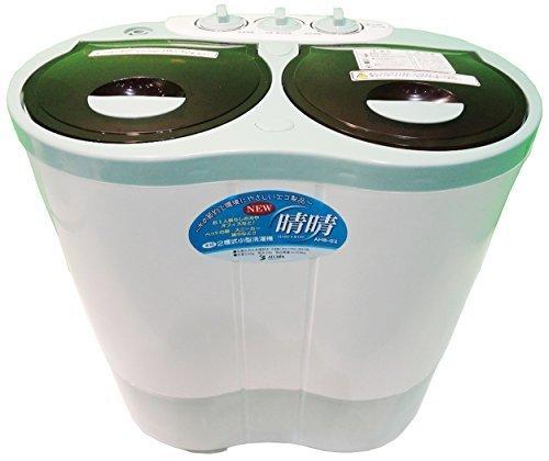 ALUMIS アルミス 2槽式小型自動洗濯機 【NEW 晴晴】 脱水機能搭載 AHB-02,家電,おすすめ,ファミリー
