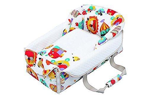 フジキ バッグdeクーファン ZOO(ズー) ホワイト クーファン オムツ替え お昼寝マット プレイマット バッグ 日本 0歳,旅行,お役立ち,グッズ