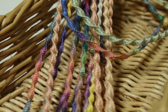 編んだひも,手作り,ミサンガ,