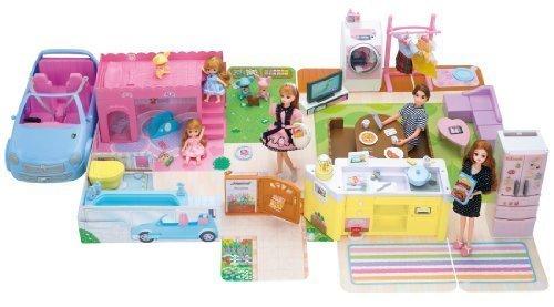 リカちゃん おしゃべりスマートハウス ゆったりさん タカラトミー,おもちゃ,女の子,3歳