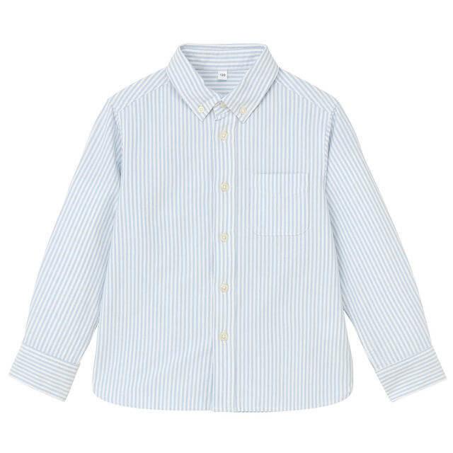 オーガニックコットンオックスフォードシャツ,子供服,シャツ,