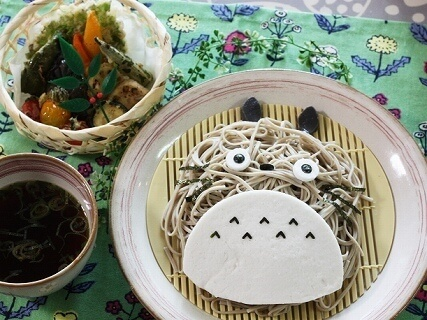 トトロのざるそば,麺,レシピ,