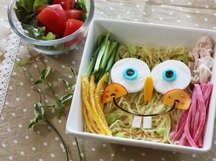 冷やし中華のスポンジ・ボブ,麺,レシピ,