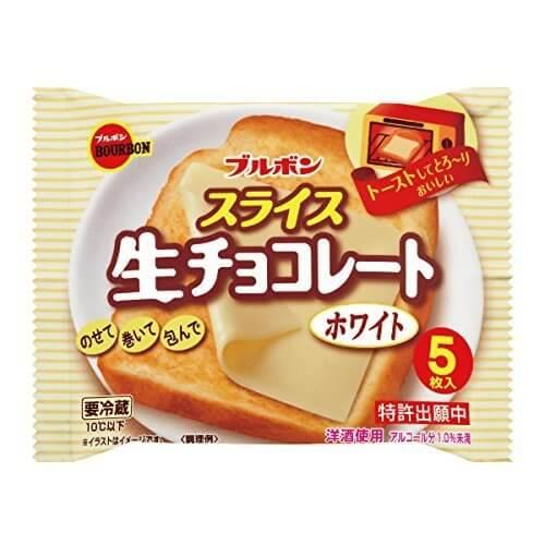 ブルボン スライス 生チョコレートホワイト 12袋入,スイーツ,レシピ,