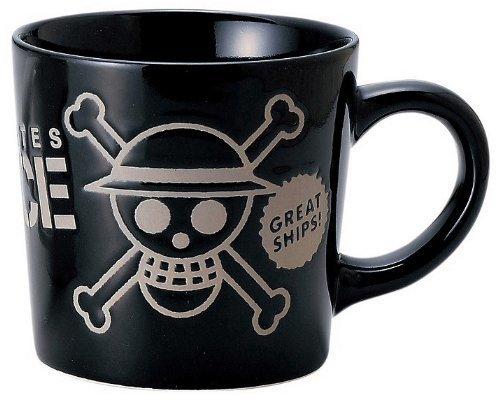 ワンピース 撥水 マグ 黒 (海賊旗) 121143,ワンピース,グッズ,