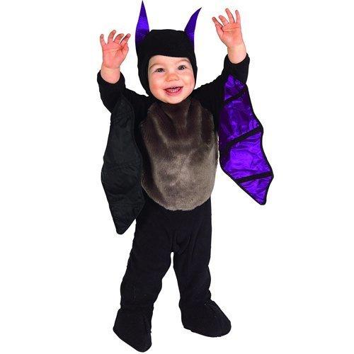 RUBIE'S (ルービーズ) ハロウィンコスチューム 子供用 コウモリ LIL'BAT(6-12ヶ月) [並行輸入品],赤ちゃん,ハロウィン,