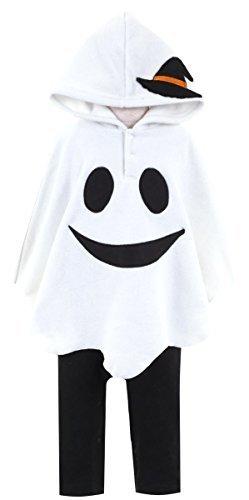 子供 ハロウィン おばけポンチョ ロンパース/なりきりコスチューム 衣装【10665206】 60cm,赤ちゃん,ハロウィン,