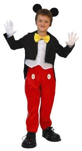 ディズニー ミッキー キッズコスチューム 男の子 100cm-120cm 802548S,ハロウィン,仮装,男の子