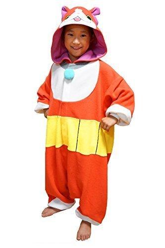 キャラクター着ぐるみ 妖怪ウォッチ ジバニャン着ぐるみ 子供用110cm BAN-009F,ハロウィン,仮装,男の子