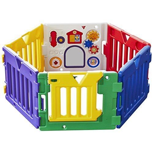 日本育児 ベビーサークル ミュージカルキッズランド DX 6ヶ月~3歳半対象 おもちゃパネル付のベビーサークル,ベビーサークル,選び方,おすすめ