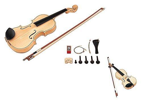SUZUKI スズキ 手づくり楽器シリーズ バイオリンキット4/4 SVG-544,バイオリン,おもちゃ,